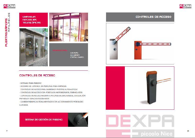 Distribuidora extreme a de puertas y automatismos for Distribuidora de recambios badajoz